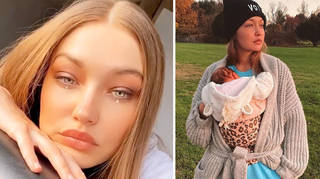 Gigi says no job is compared to being a mum as she returns to work