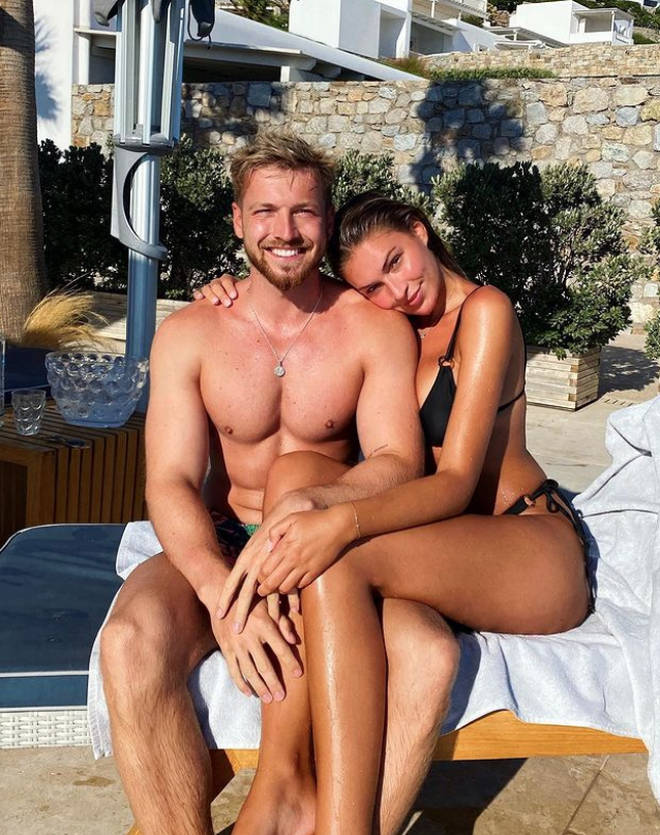 Sam Thompson and Zara McDermott split for a few months after he discovered she was unfaithful