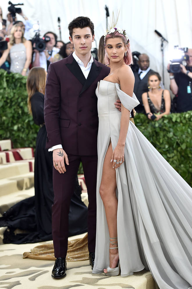 Shawn Mendes and Hailey Baldwin attended the 2018 MET Gala