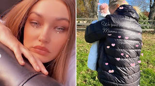 Gigi Hadid left her baby girl with mum Yolanda when she went back to work