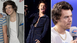 Harry Styles' fashion transformation from one Jingle Bell Ball to the next
