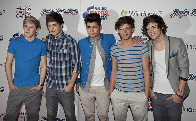 One Direction at the 2011 Jingle Bell Ball
