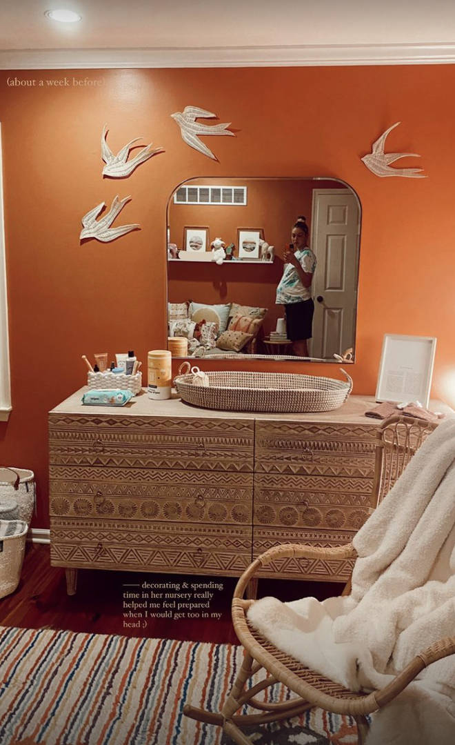 Gigi Hadid's baby girl has a cosy nursery