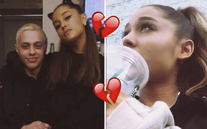 It's all over for Ariana Grande & Pete Davidson