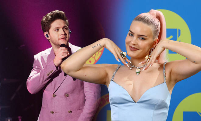 Anne-Marie has continued to fuel speculation she and Niall Horan have a collab coming