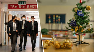 Schools in England have been told they can send students home a day early for Christmas
