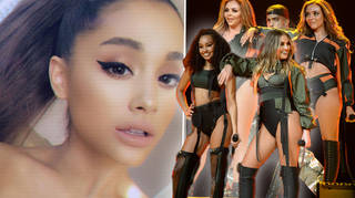 Little Mix's album track listing 'leaks' online features huge names such as Ariana Grande