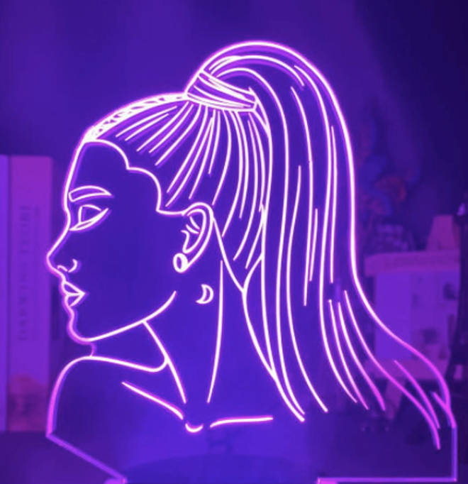 This LED Ariana Grande light is like she's in the room