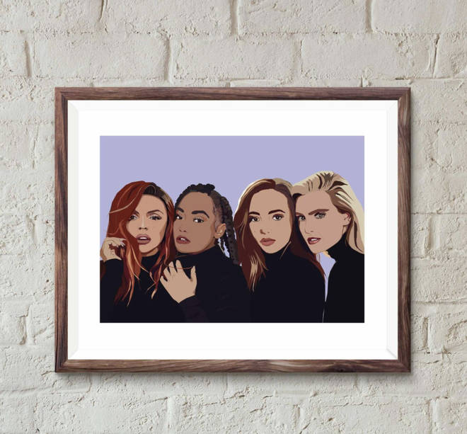Little Mix wall art to liven up any room