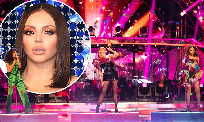 Little Mix performed as a three on Strictly's semi-finals