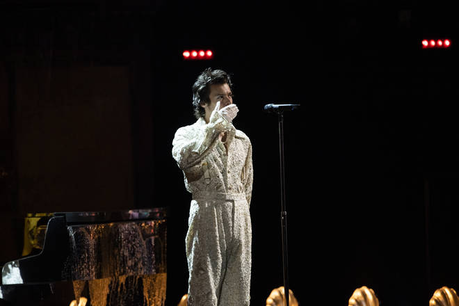 Harry Styles' BRITS' performance outfit was hailed 'the wedding outfit of dreams' for a reason