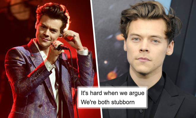 Who is Harry Styles singing about in 'Sweet Creature'?