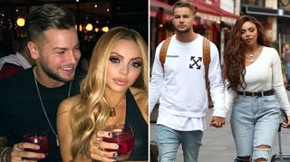 Chris Hughes sent his support to ex Jesy Nelson