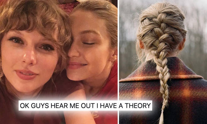 Taylor Swift fans think Gigi Hadid's baby's name has been revealed on 'Evermore'.