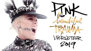 Pink's announced she'll be touring the UK in 2019