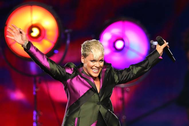 Pink's album 'Beautiful Trauma' is her sevent studio release