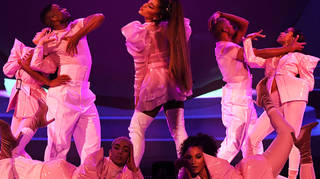 Ariana Grande's inner circle and tour crew as Sweetener tour doc drops