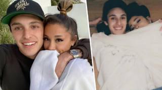 What does Ariana Grande's fiancé Dalton Gomez do for a living?