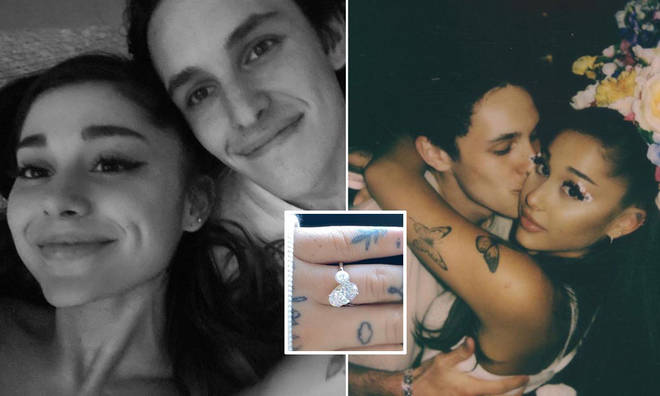 Ariana Grande's engagement ring apparently cost £260k
