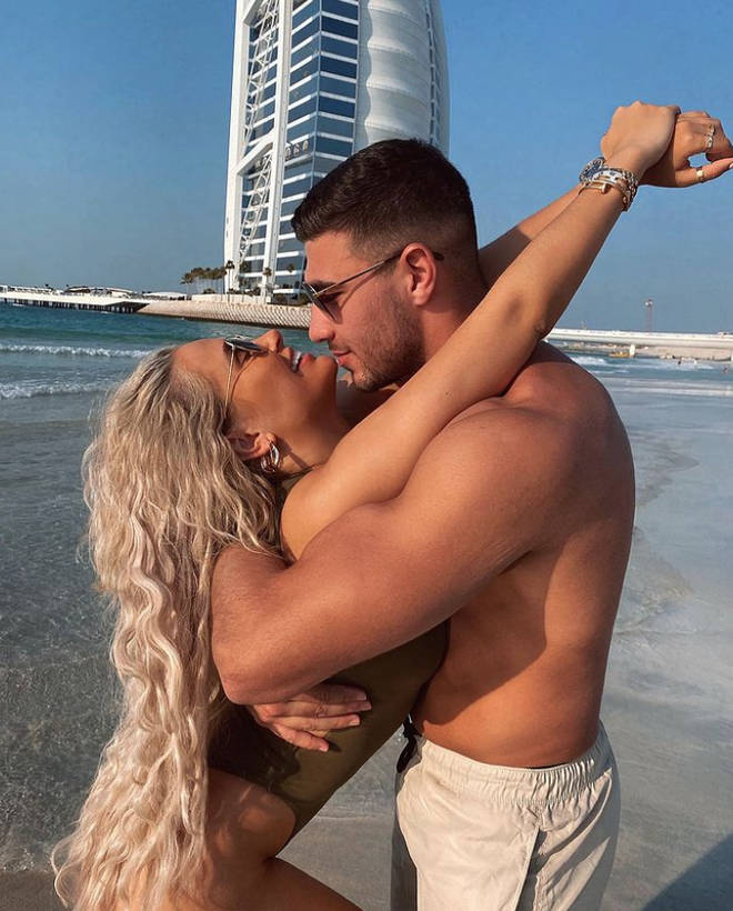 Molly-Mae and Tommy flew to Dubai and then the Maldives