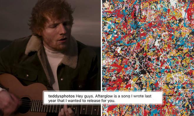 Ed Sheeran drops surprise love track 'Afterglow'