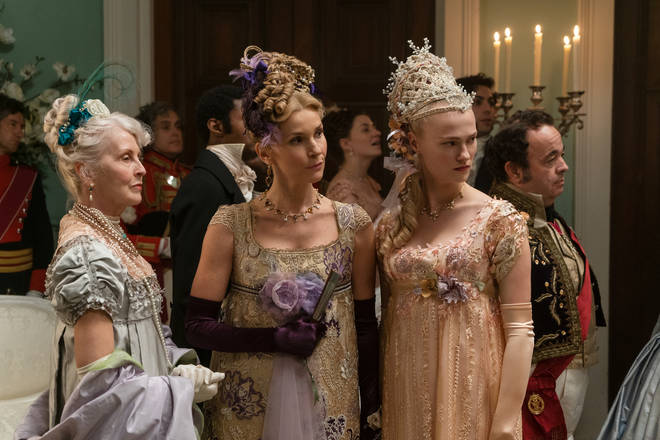Bridgerton is being dubbed the 'Old English' Gossip Girl