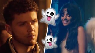 Camila Cabello and Bazzi in the 'Beautiful' music video