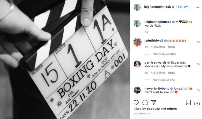The Little Mix ladies support Leigh-Anne in her acting ventures
