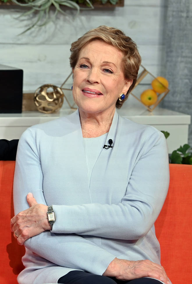 Julie Andrews is the voice of Lady Whistledown on Bridgerton