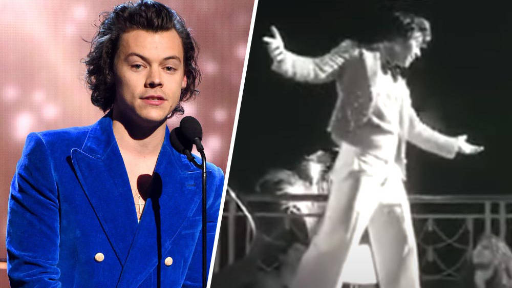 Harry Styles is giving away fans of the music video 'TPWK' to save 2020 for the last time