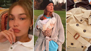 Gigi Hadid showed fans the clothes her baby girl has been given