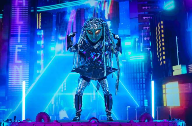 The alien on The Masked Singer