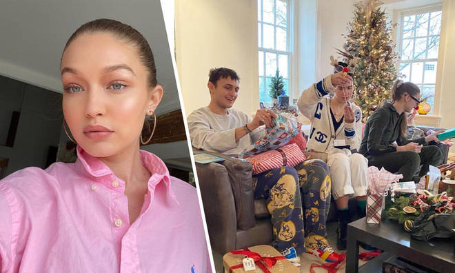 Gigi Hadid spent Christmas with her whole family