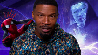 Jamie Foxx joked about his appearance as Electro in the Spider-Man sequel