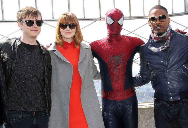 Jamie Foxx previously starred as Electro opposite Andrew Garfield and Emma Stone
