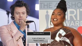 Lizzo shared a never-before-seen picture of Harry Styles