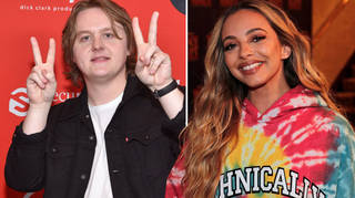 Jade Thirlwall was pied by Lewis Capaldi