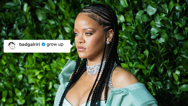 Rihanna shut down a fan asking for a new album in 2021
