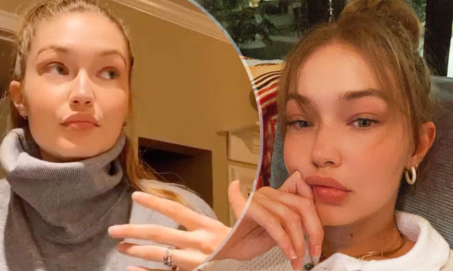 Gigi Hadid shows sparks engagement rumours with ring finger
