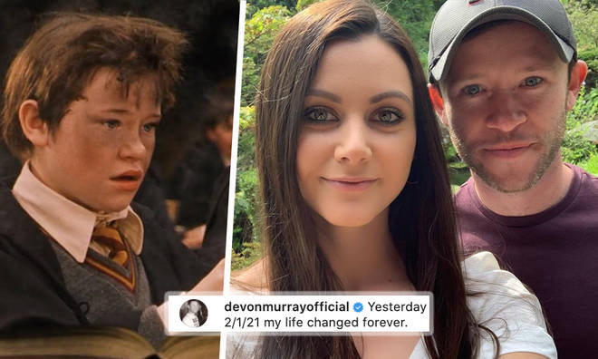 Harry Potter star welcomes baby boy with girlfriend