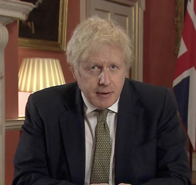 Boris Johnson announces lockdown in TV address