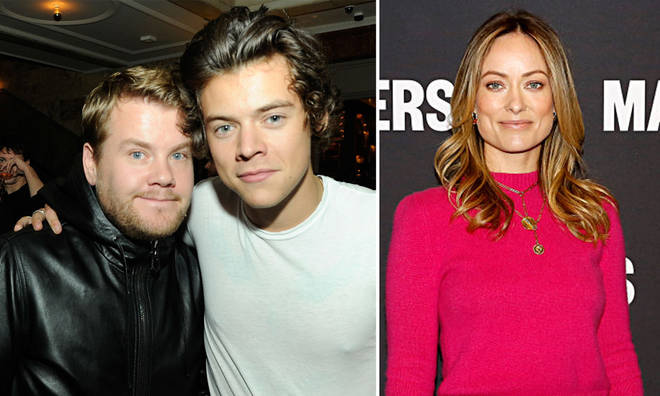 Harry Styles had help from James Corden in keeping his Olivia Wilde romance secret