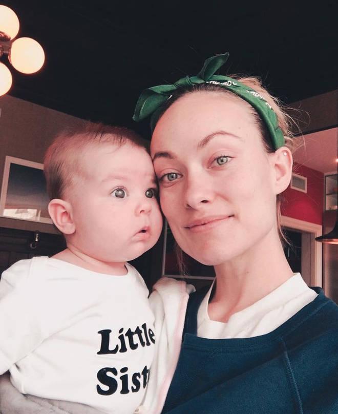 Olivia Wilde has two children.