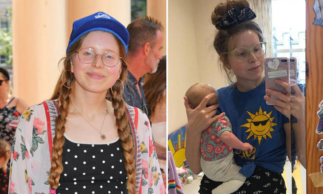 Jessie Cave's baby has tested positive for coronavirus