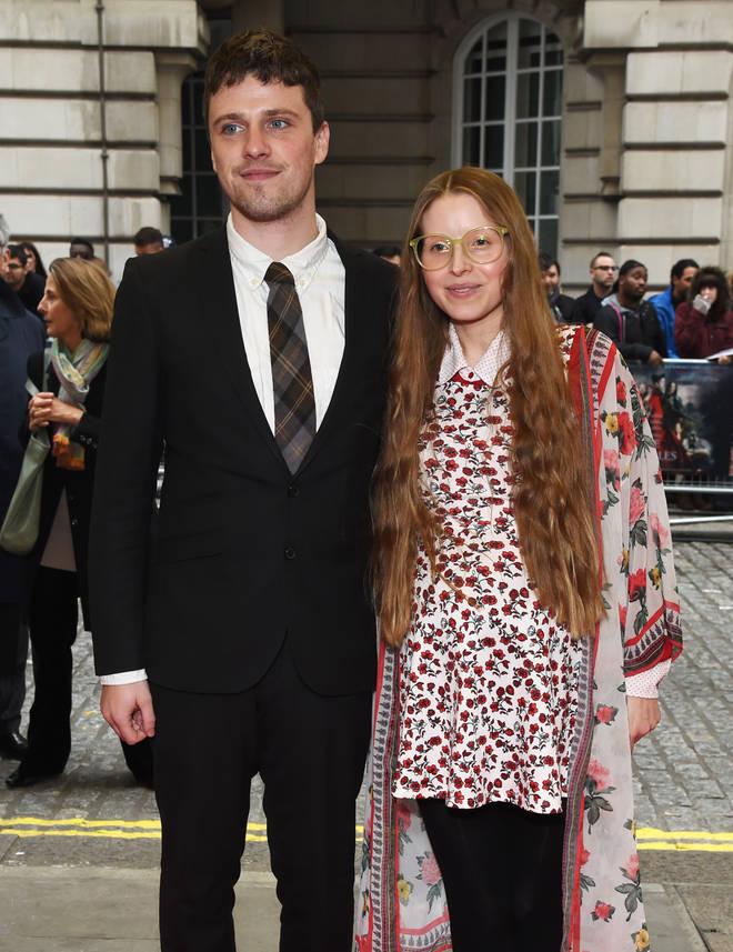 Jessie Cave and Alfie Brown now have three children