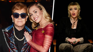 Miley Cyrus spoke about a collaboration with Elton John