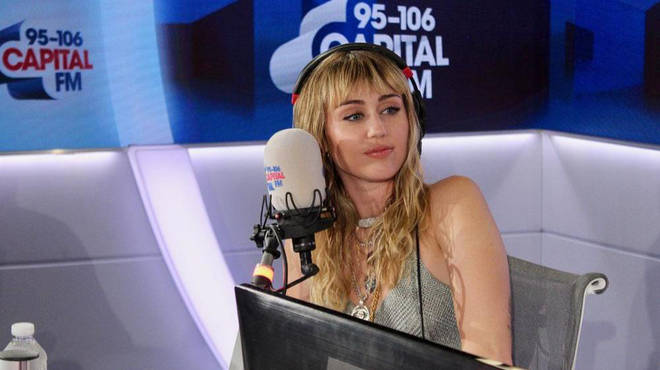 Miley Cyrus spoke about her upcoming collab to Capital Breakfast with Roman Kemp