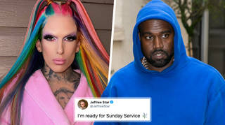 Jeffree Star leans into Kanye West dating rumours on social media
