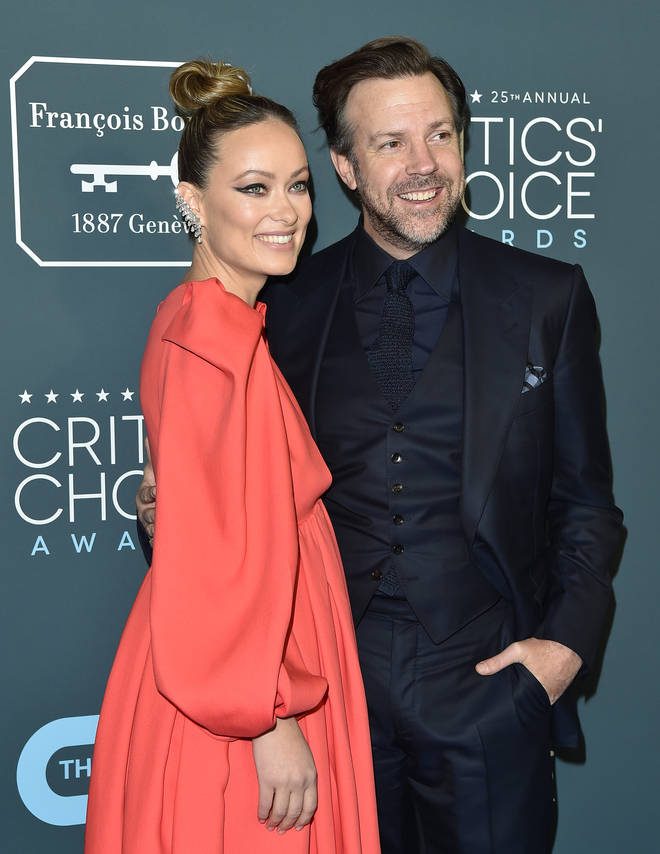 Olivia Wilde was previously engaged to Jason Sudeikis