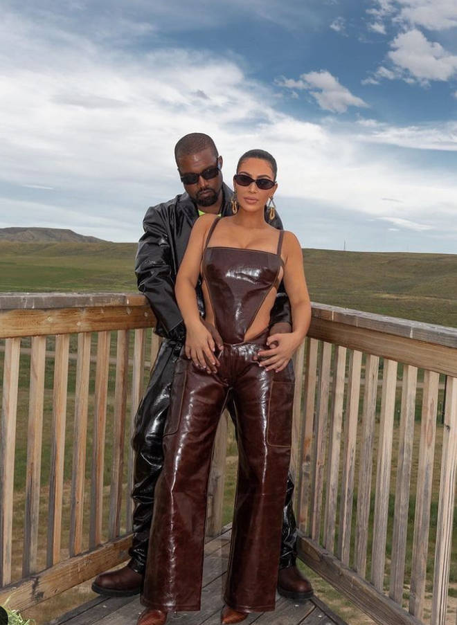 Kanye West has been residing at their Wyoming ranch